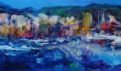 Ulpiano Carrasco, 'Puerto de Monaco con sirena', 2020