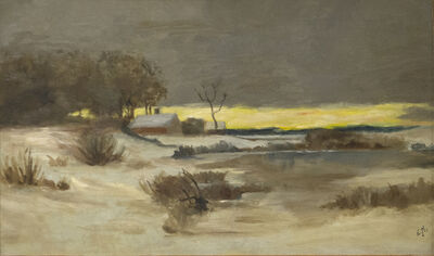 Edward Hopper, 'Old Ice Pond at Nyack', ca. 1897