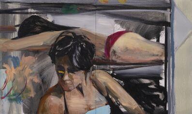 Daniel Clarke (b. 1971), 'Two figures', 2019