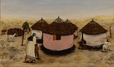 Vusi Khumalo, 'Huts and Kraal', 2001