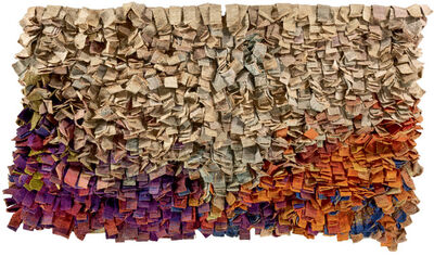 Olga de Amaral, 'Cuatro paisajes (Modulo D) [Four landscapes (Module D)]', 1976-1977