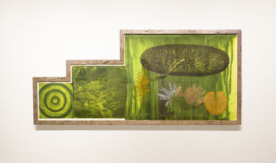 Judy Pfaff, 'Untitled (Target, Garden, Lily Pad)', 2001