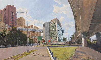 Rackstraw Downes, 'New York State Psychiatric Institute', 2015