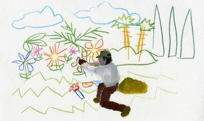 Ramiro Gomez, 'Untitled (Gardener I)', 2012