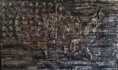 "Michael Beresheim, '""Untitled Flag""', 2018"