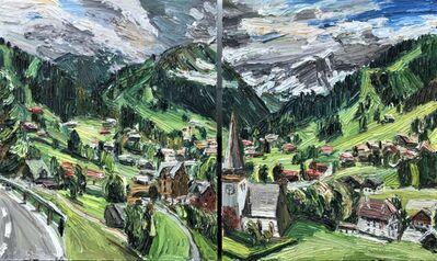Christopher Lehmpfuhl, 'Saanen-Panorama', 2018