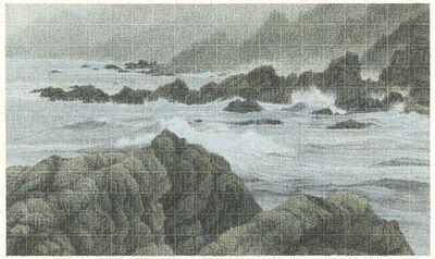 Lee Chun-yi, '碧浪夾岸 Crystal Waves tumbling onto the Shore', 2019