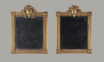 'Pair of mirrors', 19th century
