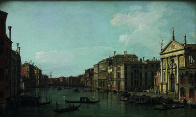 Canaletto, 'The Grand Canal, Venice, Looking South-East from San Stae to the Fabbriche Nuove di Rialto', 1738
