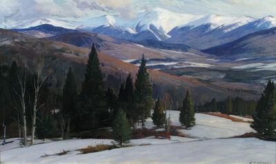 Aldro Thompson Hibbard, 'Mountain Range', 20th Century