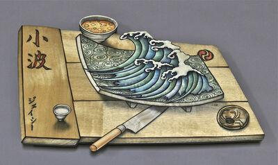 John Cederquist, 'Wave Tray', 2006