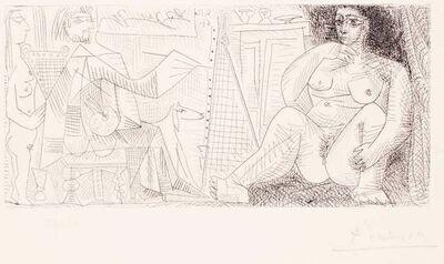 Pablo Picasso, 'Le Peintre et son Modèle ', 1963
