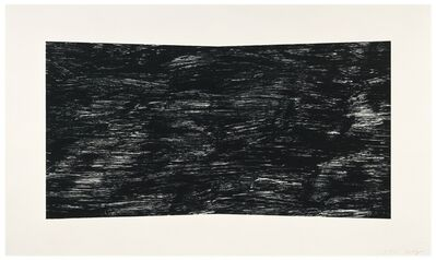 Ellsworth Kelly, 'Textured Black', 2001