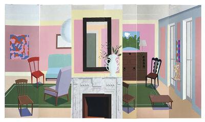 Ann Agee, 'Pink Room', 2020