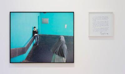 Sophie Calle, 'Take care of yourself. Public letter writer, Rafaèle Decarpigny / Prenez soin de vous. Ecrivain public, Rafaèle Decarpigny', 2007
