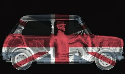 Nick Veasey, 'Union Jack Mini Driver', 2014