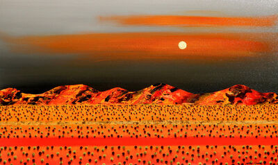 Peter Coad, 'Full Moon Rising'