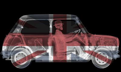 Nick Veasey, 'Union Jack Mini Driver', 2014
