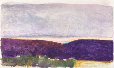 Wolf Kahn, 'Santa Fe Sunset', 1993
