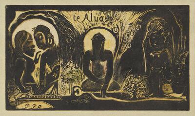 Paul Gauguin, 'Te Atua (The Gods)', 1893-1894