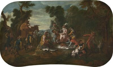 Christophe Huet, 'Singerie: The Picnic', ca. 1739