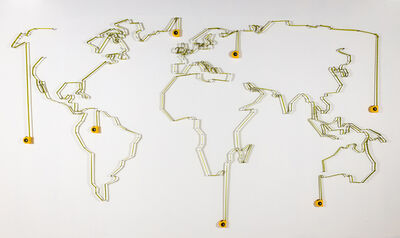 José Luis Torres, 'The Ultimate Map', 2016
