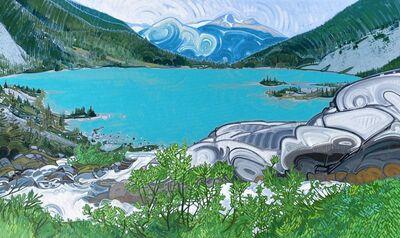 Sandra Harris, 'Upper Joffre Lake', 2020