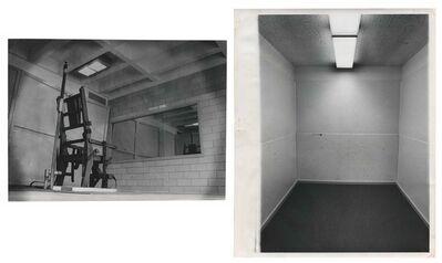 Murray Moss, 'TQ 75/76: Electric Chair, Walpole State Prison/Elementary School Punishment Room', 1965/1972