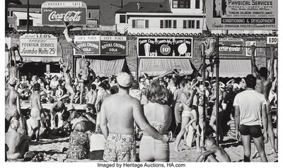 Max Yavno, 'Muscle Beach, Los Angeles', 1949