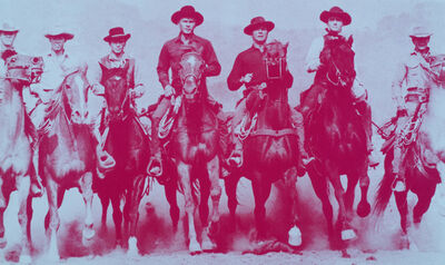 Russell Young, 'Magnificent Seven', 2008