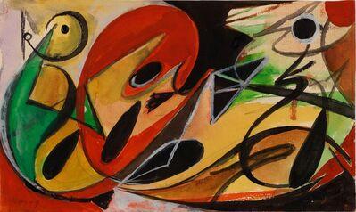 Ernst Wilhelm Nay, 'Reclining Figure', 1949
