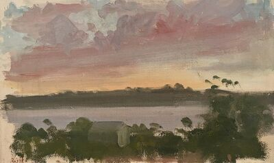 Paul Resika, 'Sunset, Chilmark, Martha's Vineyard', 1963