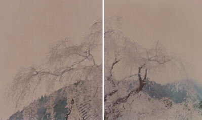 Ori Gersht, 'Against The Tide, Diptych Monks (Diptych)', 2010