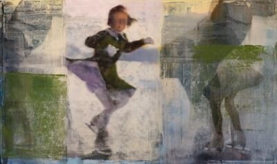 Philip Buller, 'Skater with Greem', 2016
