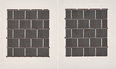 Richmond Burton, 'Thought Assembly Plane I & II', 1991