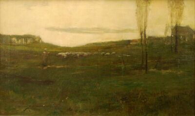 Chauncey Ryder, 'French Landscape', ca. 1900