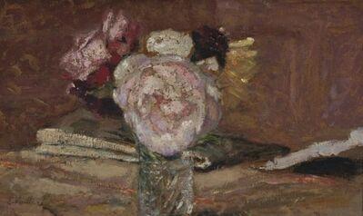 Édouard Vuillard, 'Roses dans un vase de verre', ca. 1910