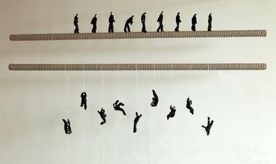 Ji Wenyu & Zhu Weibing, 'Climb up, Walk Steadily', 2011