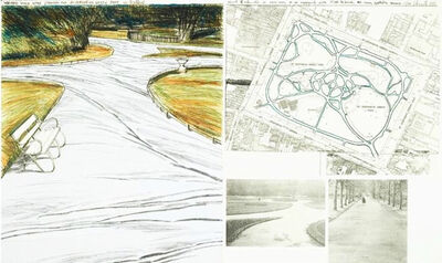 Christo, 'Wrapped Walk Ways (project For ST Stephen's Green Park, Dublin)', 1983