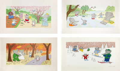 Laurent de Brunhoff, 'Babar's Four Seasons', 2006-2008