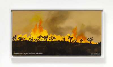 Jessie Homer French, 'The Dome Fire - Mojave- National Preserve', 2021