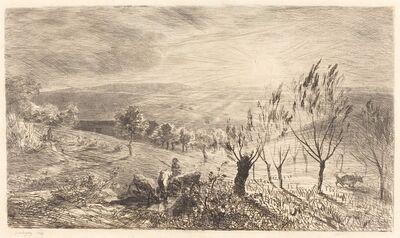 Charles François Daubigny, 'Sunrise (Le Lever du soleil)', 1850