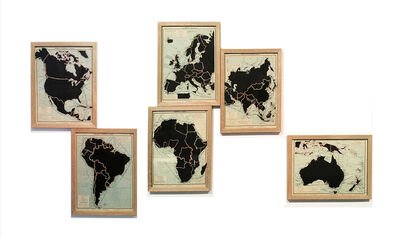 Juan José Martín Andrés, 'De la serie: The Comparative Atlas. London 1948', 2017