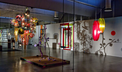 Tobias Rehberger, 'Installation view of 'the chicken and egg no problem' at Stedelijk Museum (Photo: Gert Jan van Rooij)', 2008
