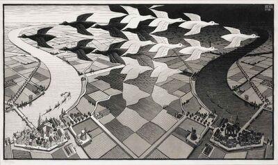 Maurits Cornelis Escher, 'Day And Night (Bool/Kist/Locher/Wierda 303)', 1938
