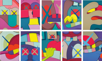 KAWS, 'Ups and Downs (Suite of 10)', 2013