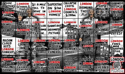 Gilbert and George, 'London', 2011