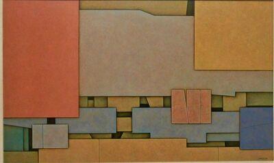 Gunther Gerzso, 'Rojo- Amarillo-Azul', 1969