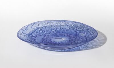 Ercole Barovier, 'A glass plate Efeso', 1964