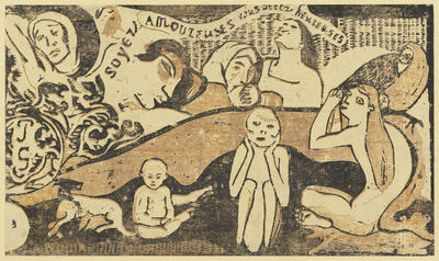 Paul Gauguin, 'Be in Love and You will be Happy (Soyez amoureuses, vous serez heureuses)', in or after 1895